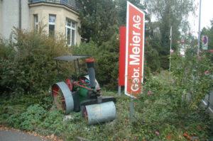 Vor dem Einsatz von Bütler-Gartenpflege